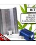 KIT CFL 125W AGRO 2100°K BASSO CONSUMO CULTILITE