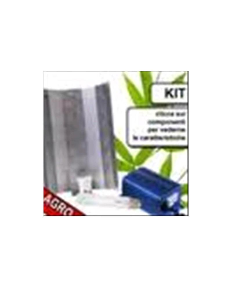 KIT COMPLETO TERRA 400W BIOCANNA + GROWBOX