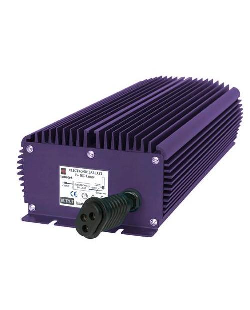 E-BALLAST LUMATEK PRO 600W - 400V SOLO BULBI 600W - 400V DIMMERABILE (SOLO LAMP. 400V)