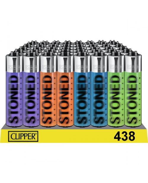Clipper Lighters - Custom Made - Stoned