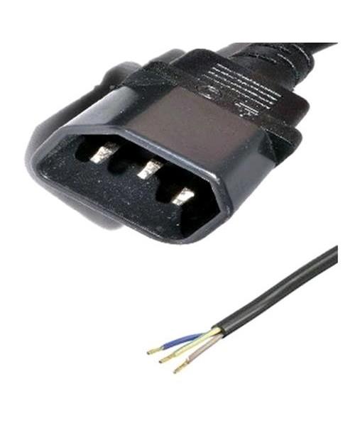 CAVO IEC PLUG (R25) + PUNTALI 3X1 16/A 140 CM
