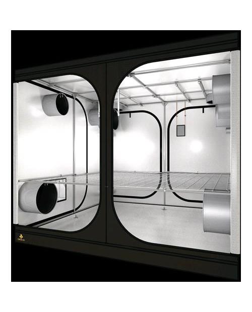 SECRET JARDIN - DARK ROOM 240 - 240X240X200 - COMPOSTO DA 2 SCATOLE - REVISION 3.0