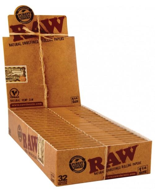 Raw Classic Cartine 1 1/4 Size Dimensione