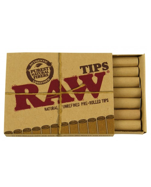 Raw Pre-rolled Cones 3 pack Display