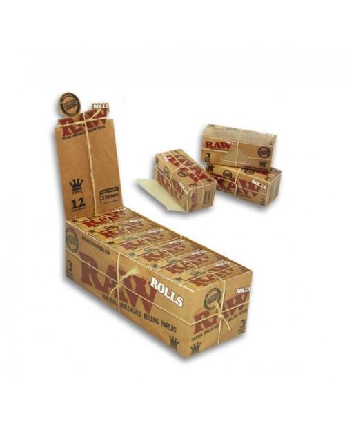 Raw Rolling paper Rolls - 3m long -