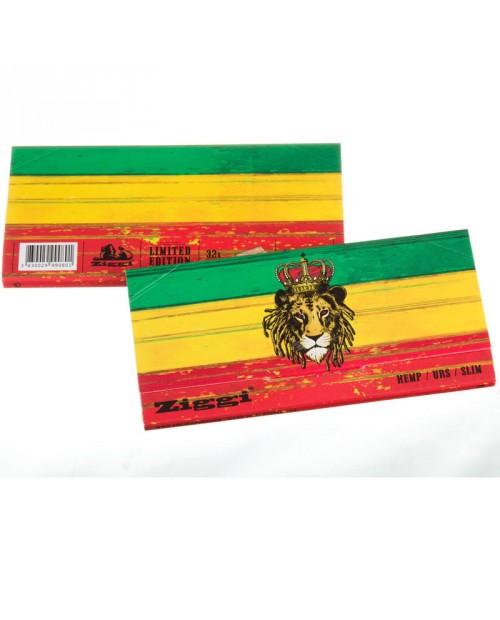 Ziggi URS Slim - Rasta Lion Hemp