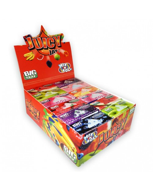 Juicy Jays Flavoured Paper Rolls - Mix Flavours