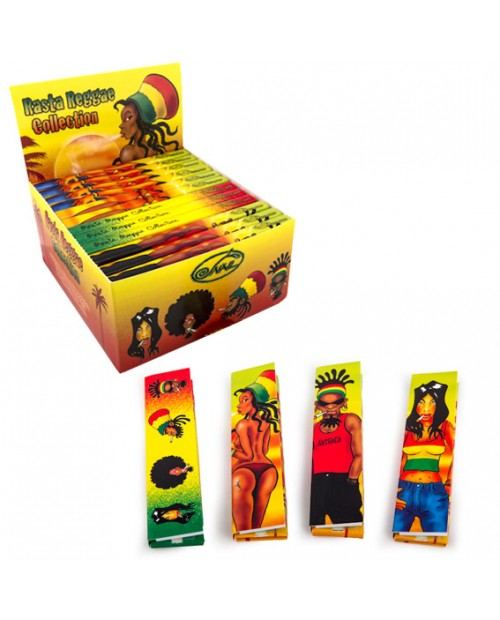 Rasta Reggae - cartine e filtri personalizzate