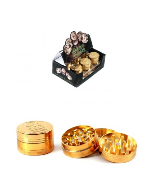 Golden Metal Grinder 3 Parts 40mm -