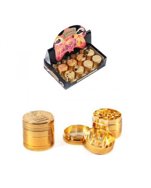 Golden Metal Grinder 4 Parts 40mm -
