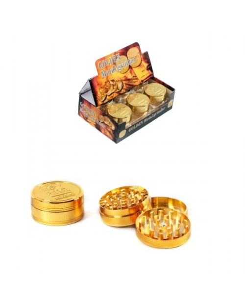 Golden Metal Grinder 3 Parts 52mm -