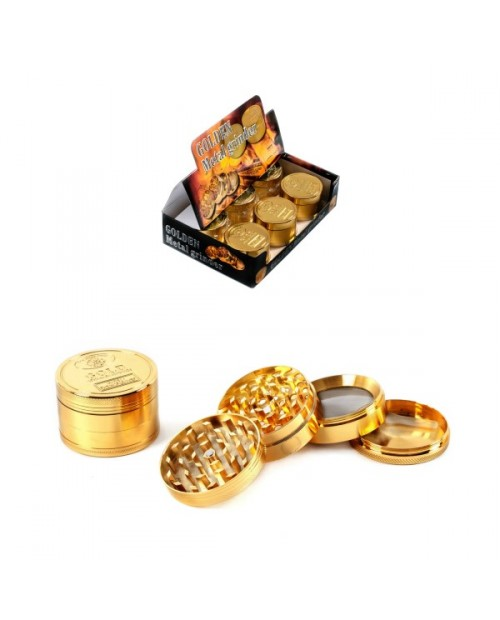 Golden Metal Grinder 4 Parts 52mm -