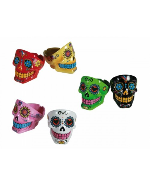 Sugar Skull Ashtray -