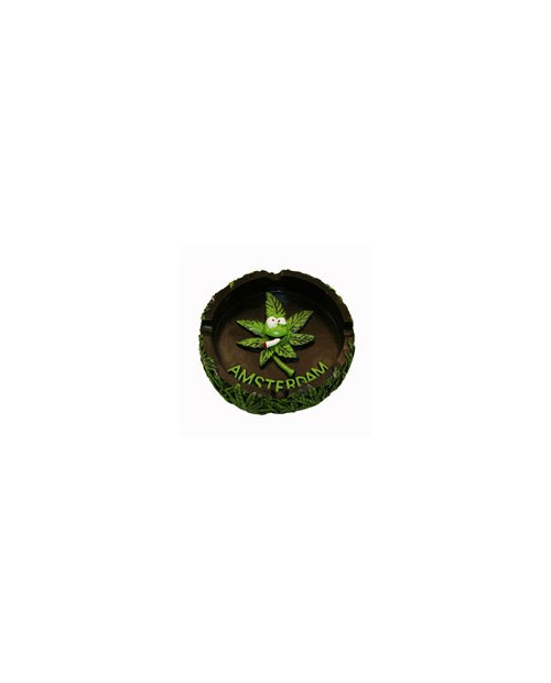 Ashtray - Weed Leaf -