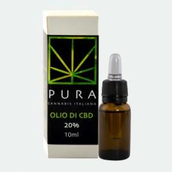 HEMPSEED OIL - THC FREE - CBD 20 % -Flc. 10 ml
