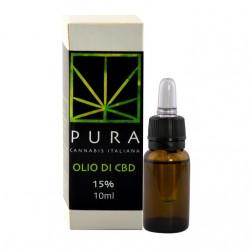 PURA CBD IN OLIO DI CANAPA - 15%