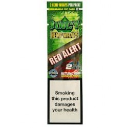Juicy Blunt Wrap di Canapa Red Alert Pacchetto