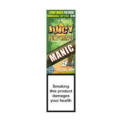Juicy Blunt Wrap di Canapa Manic Pacchetto
